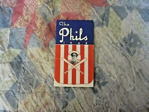 1942-PHILADELPHIA-PHILLIES-MEDIA-GUIDE-ROSTER-1960-1971-Pittsburgh-Pirates-Mgr