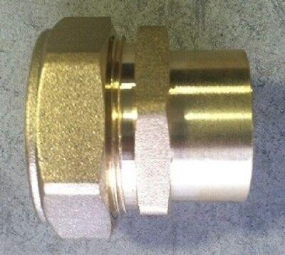 """3//4/"""" PEXworx Pex-Al-Pex Compression x MPT Brass Fitting"""