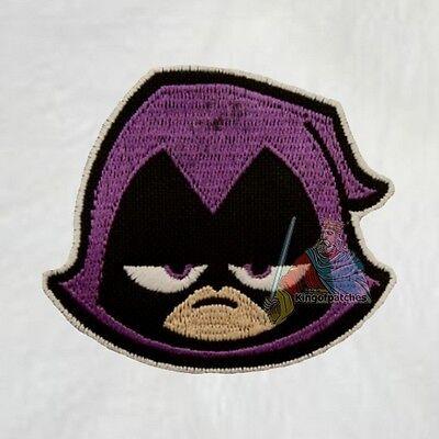 Starfire Embroidered Patch Teen Titans Super Friends Cyborg Raven Robin Beast