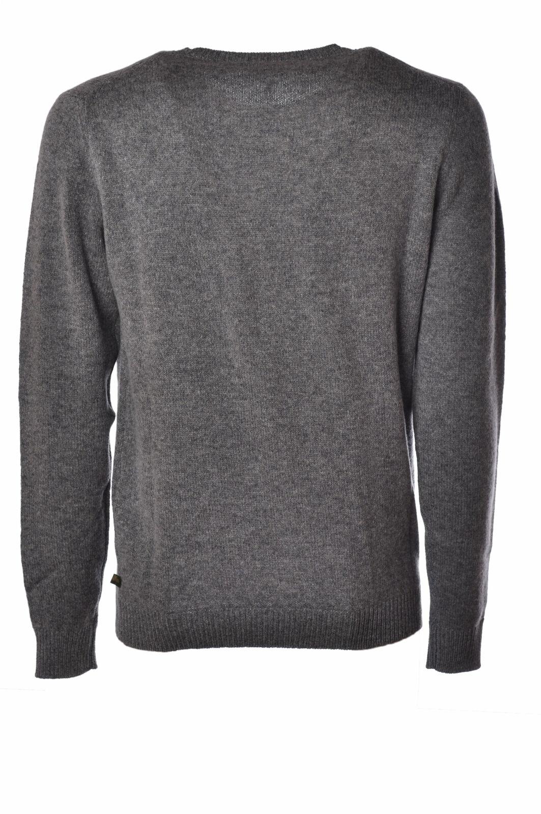 Irish Crone  -  Sweaters - Male - grigio grigio - - 2509626N173455 2e5d15