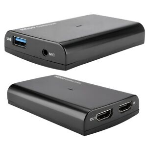 Hot HDMI 4K 30P HD Video Capture Card 1080P 60fps For Game