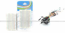 Mini 400 Points Solderless BreadBoard With 65pcs Male to Male Jumper wire