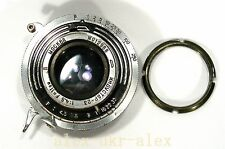 Rare Industar-23 Moskva 4,5/11 cm lens with shutter 1948year.Good cond.