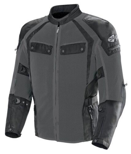 Men/'s 3//4-Length Mesh Jacket-Gunmetal//Black Joe Rocket Phoenix Ion Summit