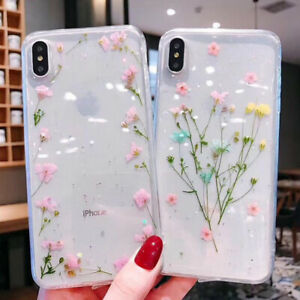 Luxury Thin Floral Iphone Case Cover For Iphone 11 pro X XR XS Max 7,8 6 6s