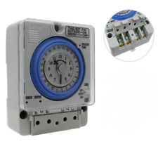 Tb35 N Programmable Din Rail Water Heater Timer Switch Time 100 240v Controller