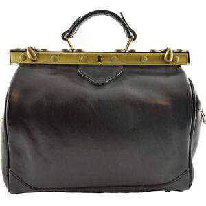2 Arzttasche Leder Arzttasche Leder 2 Seitentaschen Fenice qUUd1rwBnx