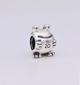 Details about 2020 Authentic PANDORA 20th Anniversary Frog Silver Charm  #798952C00 Limited!!!