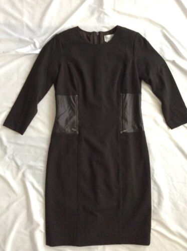 Worth Brown Dress size 6 full front zipper