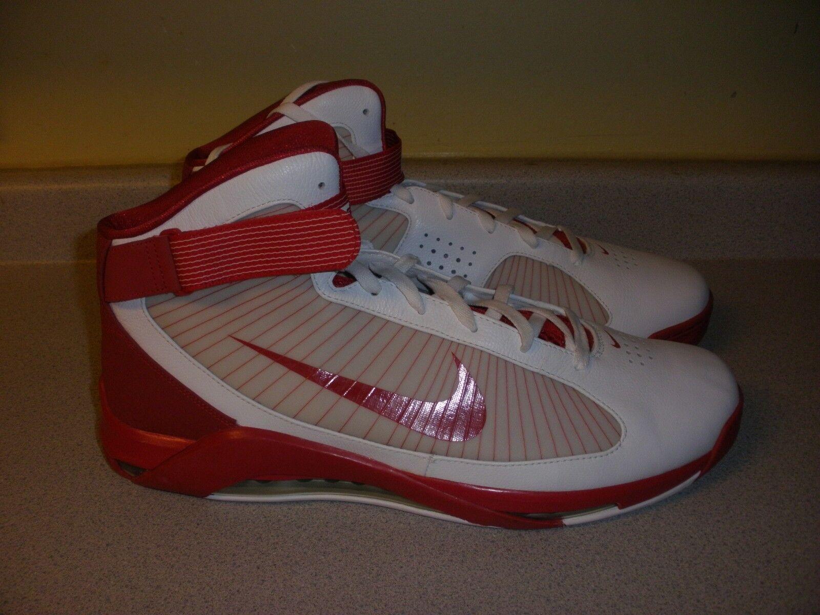 Nike air max Uomo hypermax flywire dimensioni 17 rosso - bianco