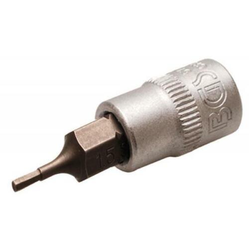 "BGS 5152 Bit-utilisation6,3 mm 1//4/"" tête cylindrique 1,5 mm"