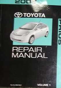 2008 toyota prius service repair shop manual volume 3 factory oem rh ebay com Toyota Prius Prime 2018 Toyota Prius
