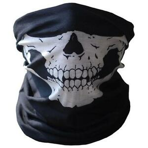 Bicycle-Ski-Skull-Half-Face-Mask-Ghost-Scarf-Multi-Use-Neck-Warmer-COD-Free-Ship