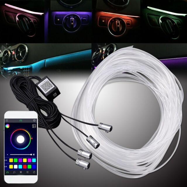 RGB Mulitcolor ambiance éclairage Lumière Barre 6 m 12 V Bluetooth Connexion App
