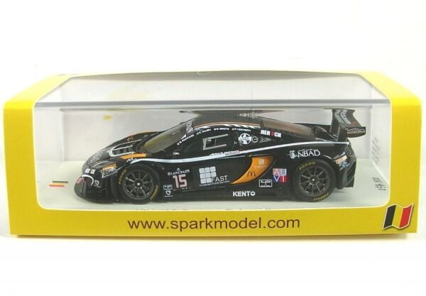 McLaren MP4-12C no. 15 24 H Spa 2014 ( K. A. Ojjeh - O. Gredz - For verisch -
