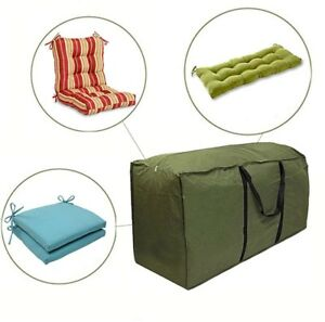 Image Is Loading Cushion Storage Bags Durable 210D Denier Outdoor Cushion