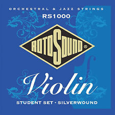 ROTOSOUND RS1000 SILVERWOUND STUDENT VIOLIN STRINGS SET 2 PACK