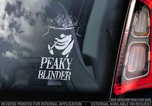 Peaky-Blinder-Auto-Fenster-Sticker-Tommy-Whisky-Zeichen-Aufkleber-Label-V02
