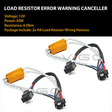 2x 9003 H4 HB2 LED Headlight Canbus Error Free Anti Flicker Resistor Canceller