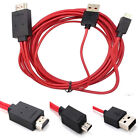 1PC MHL Micro USB to HDMI 1080P HD TV Cable Adapter for Universal Android Phones