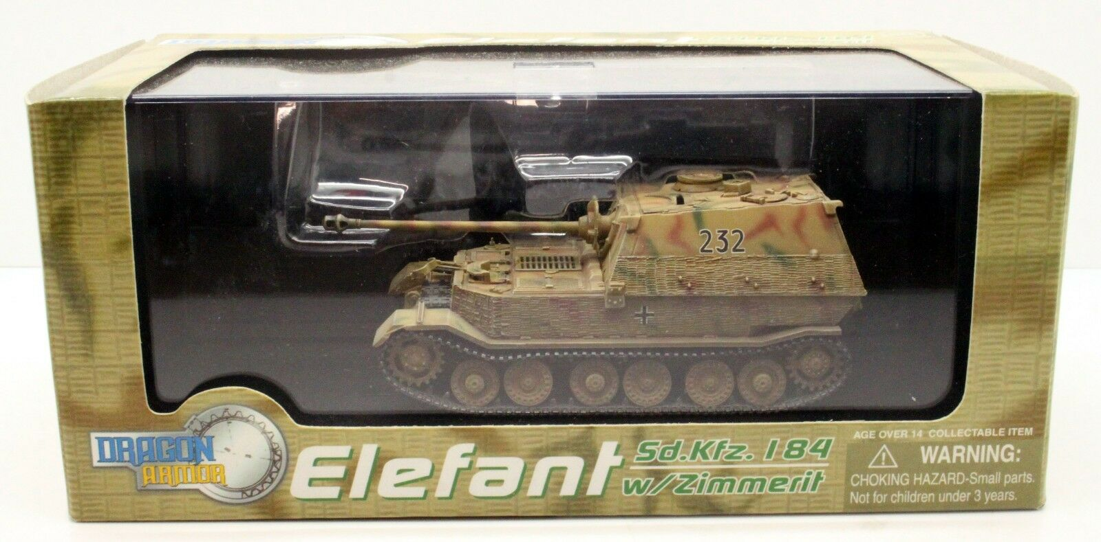 1 72 DRAGON ARMOR 60053 ELEFANT SD.KFZ.184 RUSSIA   POLAND 1944 (D29)