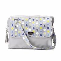 Lillybit Polka Dot Baby Diaper Bag Travel Doctor Dr Shoulder Purse Changing Pad