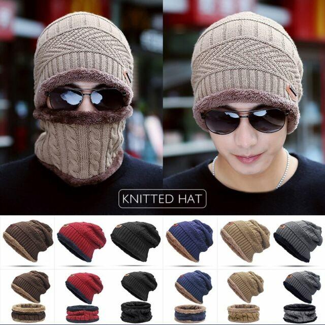 Men Women Snowman Skull Hat Beanie Cap Winter Knit Hat Cap