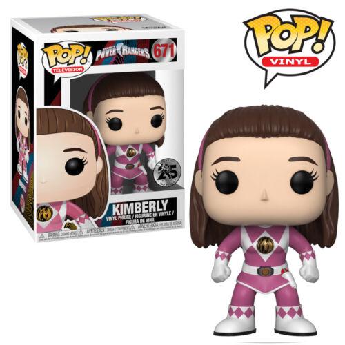 Pink Ranger Kimberly Power Rangers Funko Pop Vinyl Figure Official Collectables
