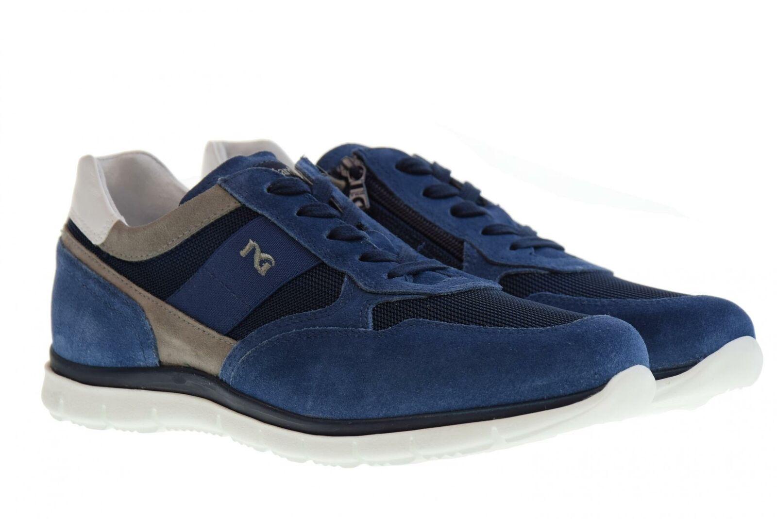 black Giardini P19s shoes de hombre zapatillas bajas P900840U   244