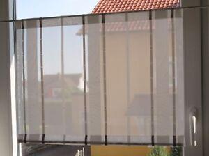 Scheibengardinen-Breite-60-cm-x-Hoehe-45-cm-neu-modern-Gardine-Paneel