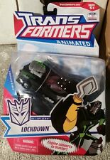 "LOCKDOWN Transformers Animated Deluxe Figure *New & Unopened"" 2007"