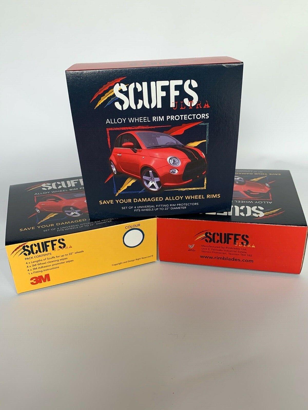 Red Scuffs by Rimblades Alloy Wheel Rim Protectors// rim Guards//rim tape