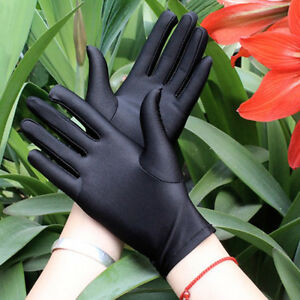 Femme-Super-elastique-Court-a-enfiler-resistant-gants-INT