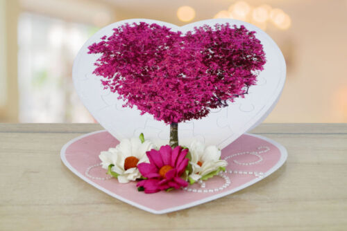 Cd Rom-TLD0025-Gratis 1st Clase P/&p Tattered Lace corazón rompecabezas morir
