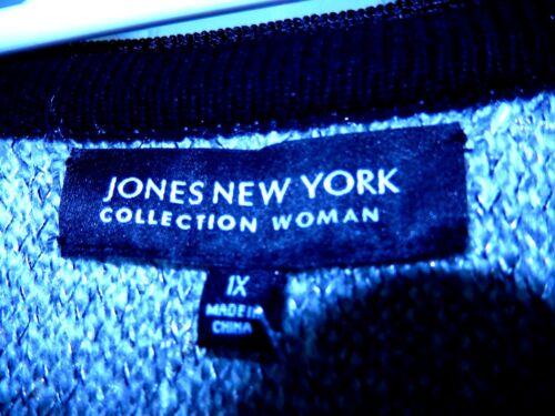 Maglione multistrato sintetica 139 frassino e filo d'oro 1x di New in pelle York NWt Jones ZrTZp0q
