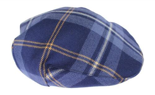 100/% Regimental Heavy Weight Tartan Winter Wool Flat Cap Pride Of Nova Scotia