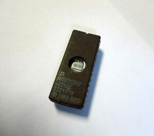 Amd Am27c512 Cmos Eprom Dil28