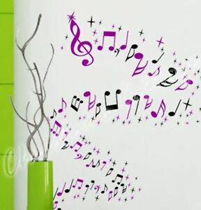 32Mix-Music-Musical-Melody-Note-47-Star-Wall-Art-Window-Decal-Sticker-Decoration