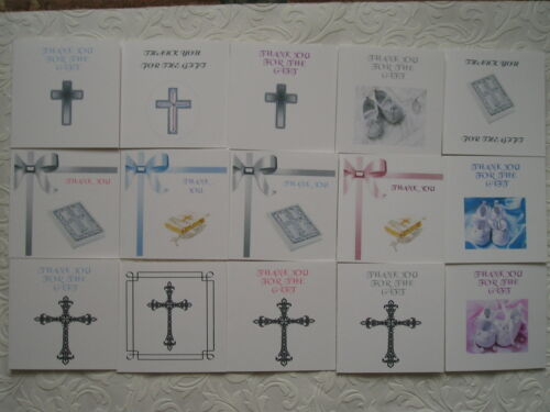 Merci pour le cadeau-baptême nommage jour cartes multi packs partycascades