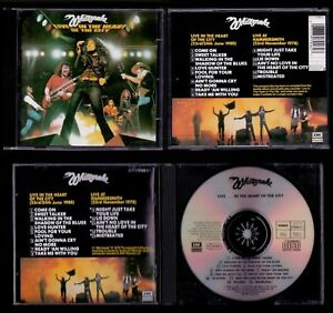 WHITESNAKE-HOLLAND-CD-LIVE-IN-THE-HEART-OF-THE-CITY-Deep-Purple-Coverdale