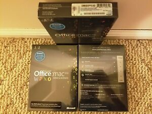 Microsoft Office Mac Home/&Business 2011,SKU W9F-00014,Sealed,Full Retail License