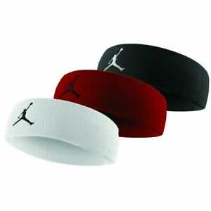NIKE-Air-Jordan-Jumpman-Headband-Basketball-SweatBands-Red-Black-Men-039-s-Women-039-s