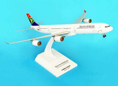 SAA South African Airways Airbus a340-600 1 200 Skymarks Avion Modèle skr180