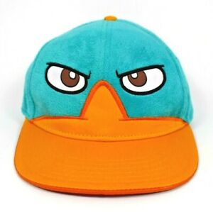 """Disney XD - Phineas & Ferb """"Perry the Platypus"""" Snap-back Baseball Cap/Hat"""