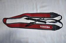 TOSHIBA Genuine Spalla Tracolla per Fotocamera Reflex Usato