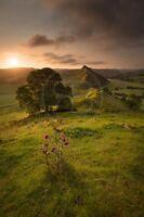 Landscape Photography Print. Chrome Hill sunrise, Peak District, U.K