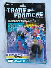 1988 Transformers Sealed Piranacon Seacon Tentakil Mib Box Misb Sealed