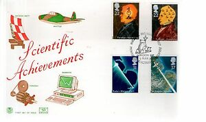 First Day Cover - 1991 SCIENTIFIC ACHIEVEMENTS - Unaddressed - London FDC