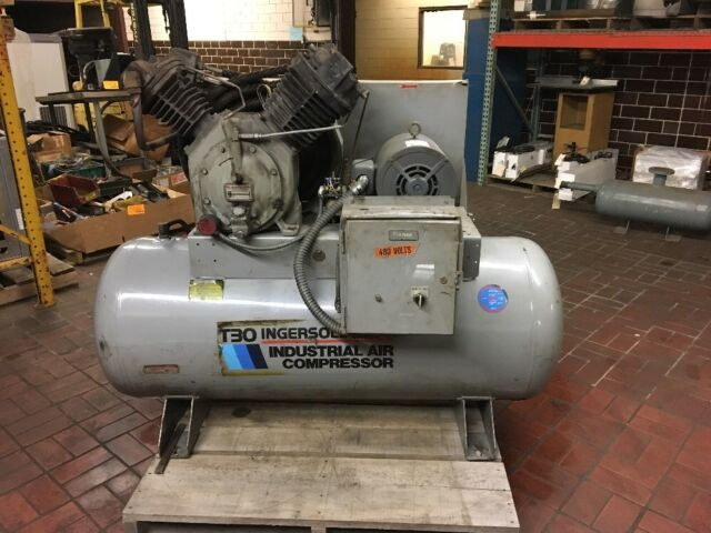 Ingersoll Rand T30 Air Compressor,2 Stage,15 HP 3-Phase 30T11120H