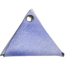 Flor Azul Realza El Triángulo Doble Cara Tachuela A Presión Holgado Monedas
